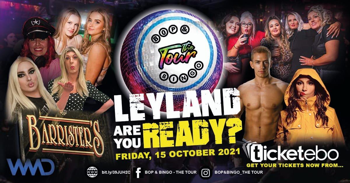 Bop & Bingo - The Tour   The Barristers   Leyland