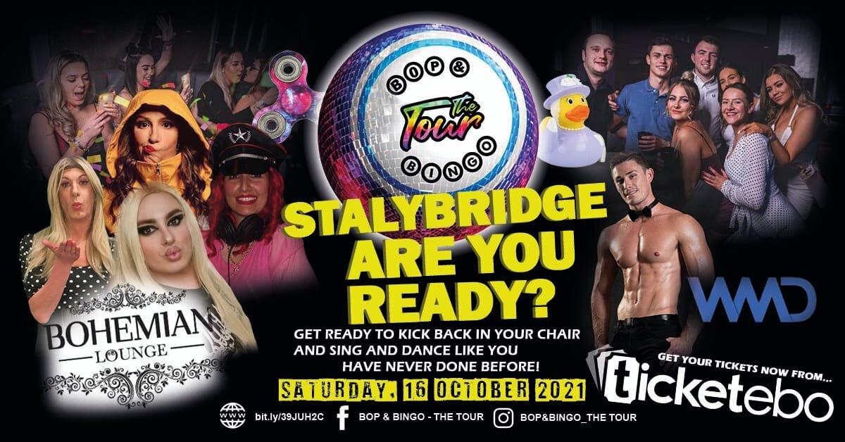Bop & Bingo - The Tour   Bohemian Lounge   Stalybridge