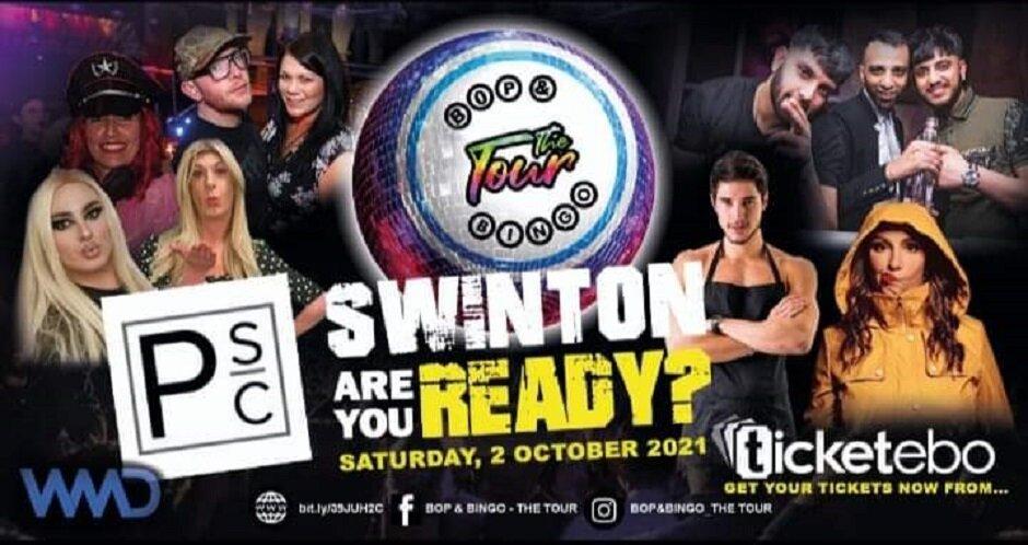 Bop & Bingo - The Tour   Pendlebury Social   Swinton   5th November 2021