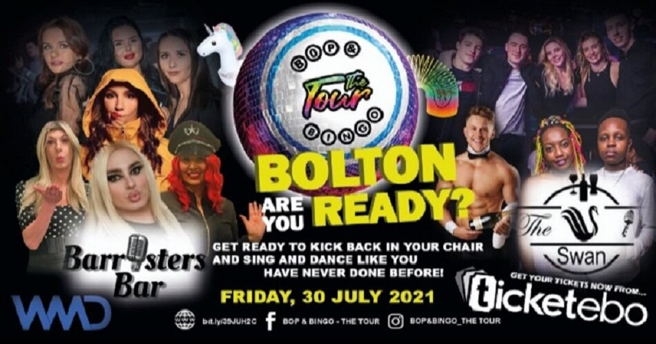 Bop & Bingo - The Tour | The Swan and Barristers | Bolton