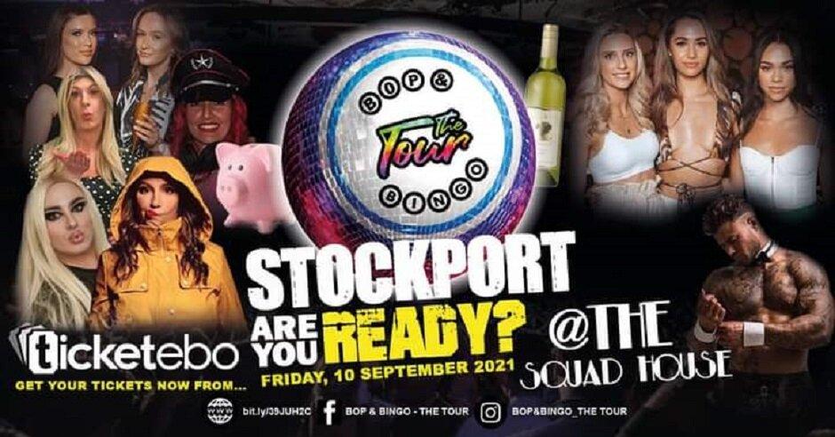 Bop & Bingo - The Tour | Squad House | Stockport
