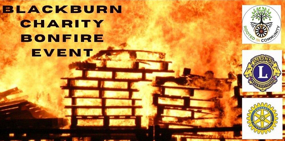 Blackburn Charity Bonfire Event
