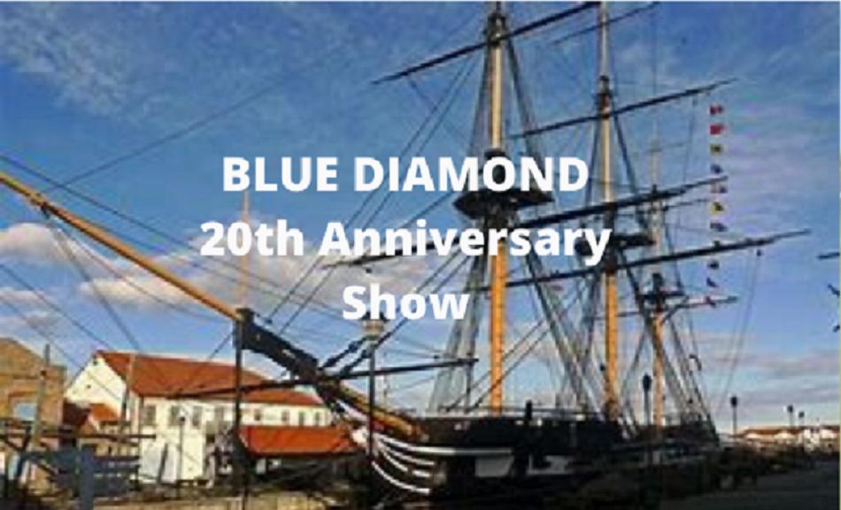 Blue Diamond | 20th Anniversary Show | Hartlepool Steelies | Special Guest : Phil Caffrey