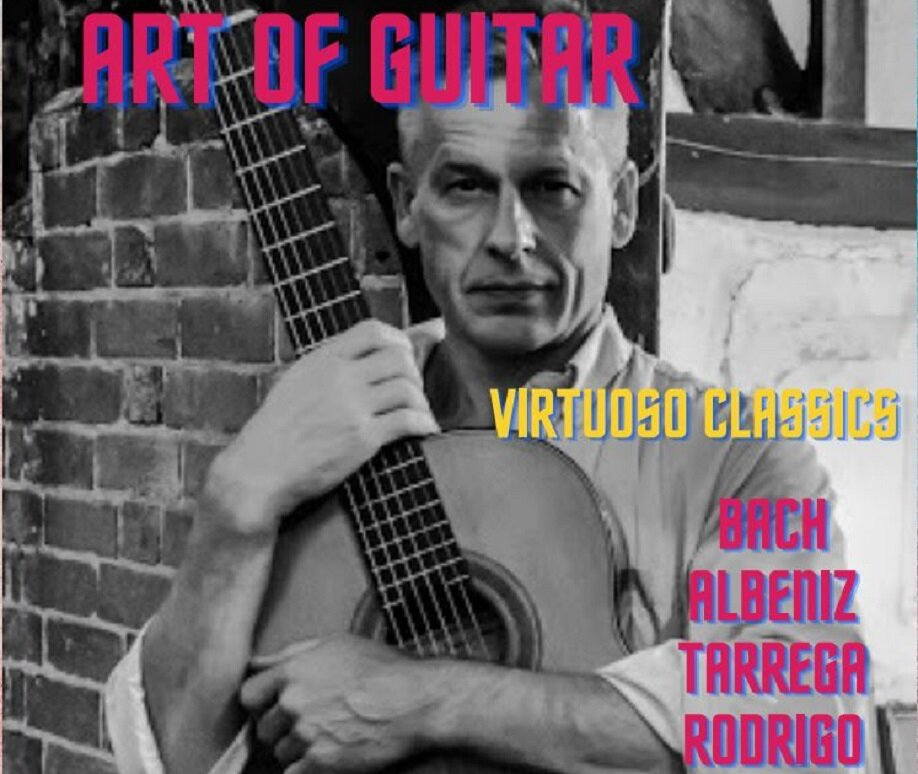 An afternoon of Virtuoso and Spanish Guitar Classics by Mark Jennings