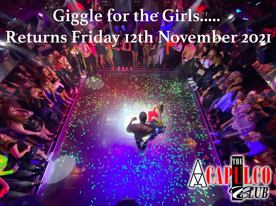 The Acca   Friday Night Giggle for the Girls   12th November 2021