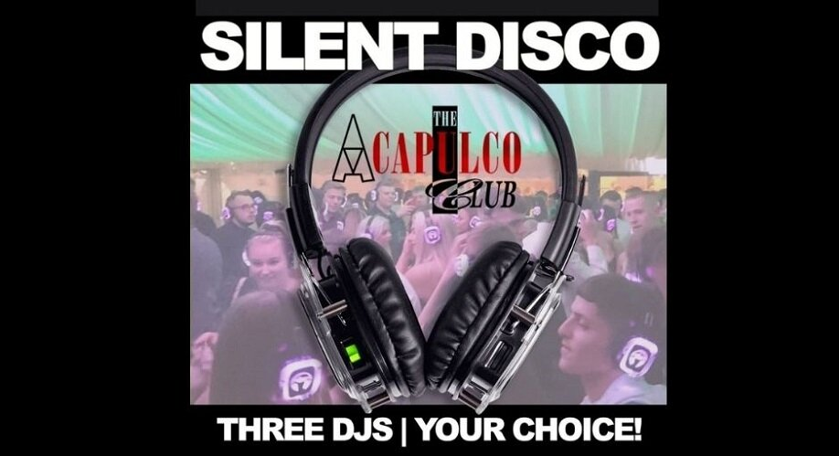 The Acca   Friday Night Silent Disco Party   3rd December 2021