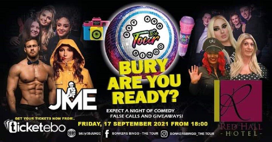 Bop & Bingo - The Tour | Red Hall Hotel | Bury