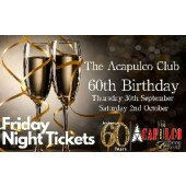 The Acca   Friday Night 60th Birthday Party   1st October 2021