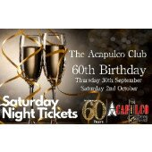 The Acca   Saturday Night 60th Birthday Party   2nd October 2021