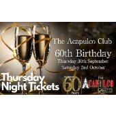 The Acca   Thursday Night 60th Birthday Party   30th September 2021