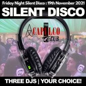 The Acca | Friday Night Silent Disco Party | 19th November 2021