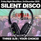 The Acca | Friday Night Silent Disco Party | 3rd December 2021