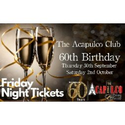 The Acca | Friday Night 60th Birthday Party | 1st October 2021