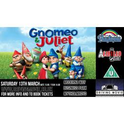 Drive-In Movie | GNOMEO & JULIET (U)| SATURDAY 24 APRIL 2PM  (MYTHOLMROYD)