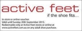 Active Feet Offer
