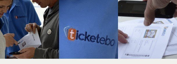 Ticketebo's Barcoded tickets and scanning technology